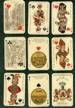 Vintage Collectible  playing cards. Alt Hamburger  1975